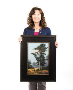 The Artist-Sheryl Knight-San Luis Tribune by Joe Johnston