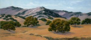 View From Zaca Creek Ranch - Sheryl Knight 14 x 31