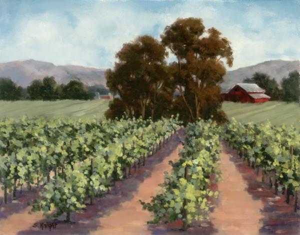 Summer Vineyard – Sheryl Knight
