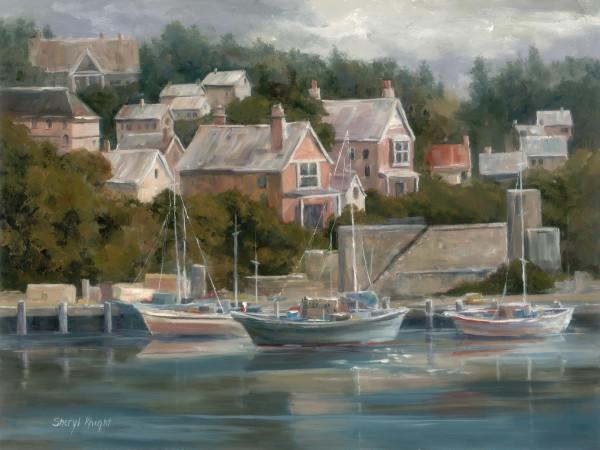 Harbor In Cornwall (Dartmouth)