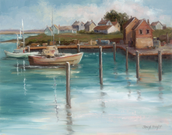 Harbor In Wales – Sheryl Knight 11 x 14