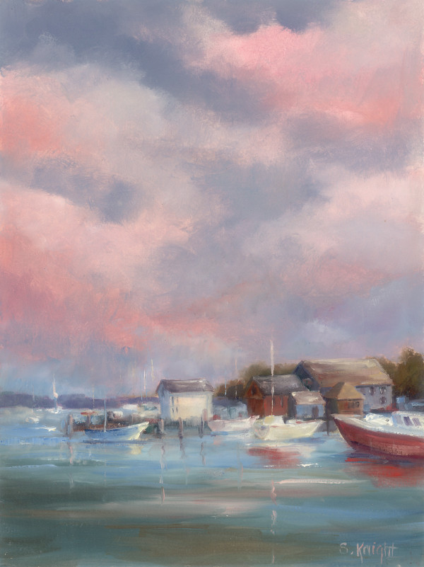 Irish Skies – Sheryl Knight 12 x 9