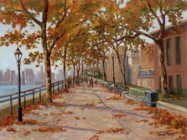 London in the Fall – Sheryl Knight 12 x 16