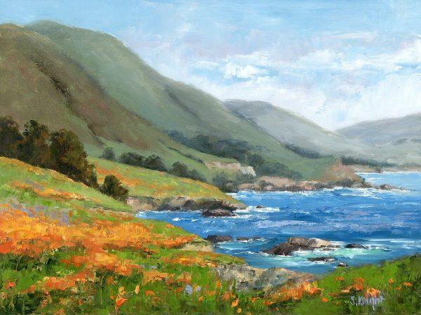 monterey-coastline-sheryl-knight-oil-9-x-12