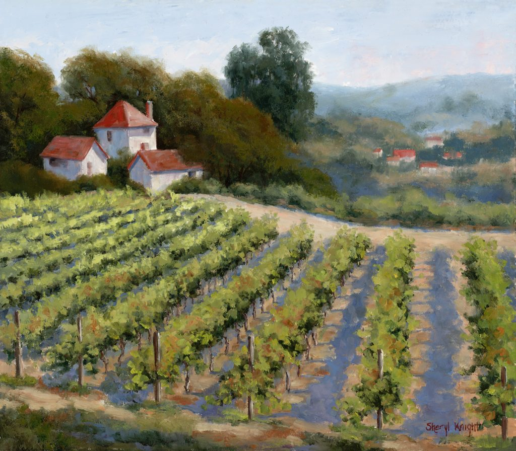 september vines sheryl knight fine art