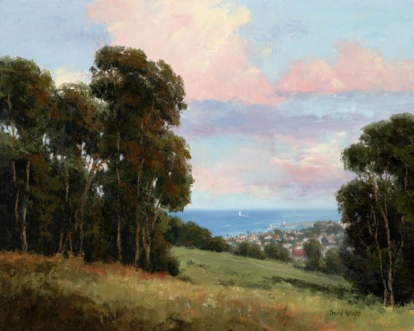 Overlooking the Pacific – Sheryl Knight 16 x 20
