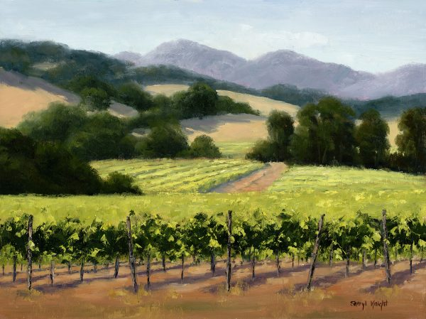 Summer Vines- Sheryl Knight 12 x 16