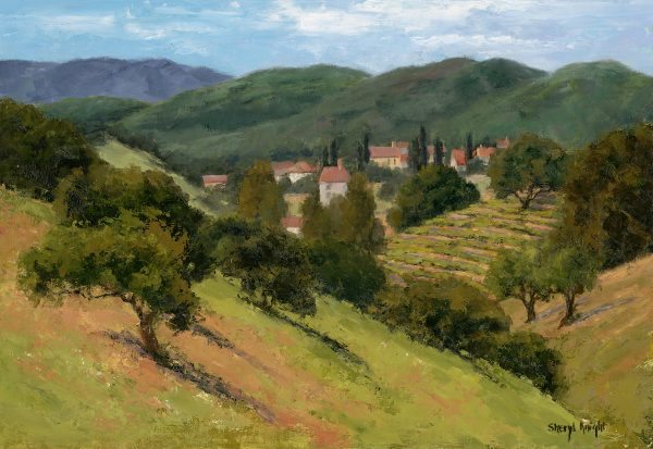 The Hills of Los Olivos – SherylKnight 11 x 16