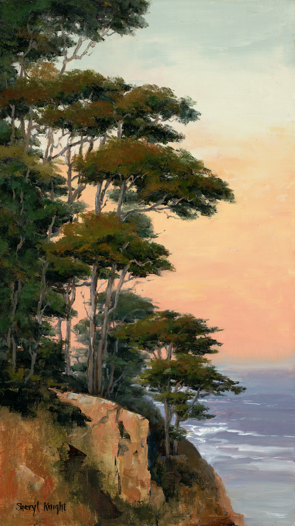 Morning Cypress, Point Lobos