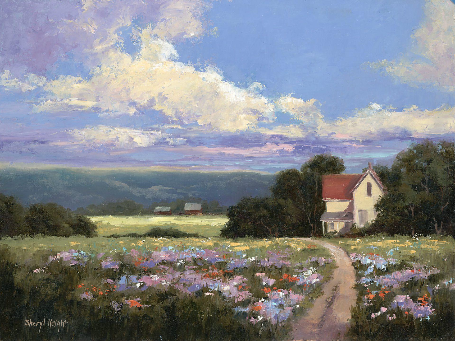 April Showers - Sheryl Knight Fine Art